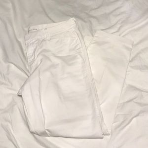 Old Navy White Pixie Pants